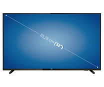 "Televisión 81,28cm (32"") LED PHILIPS 32PFS5803 FULL HD, TDT T2, USB reproductor y grabador, 2HDMI, 500HZ."
