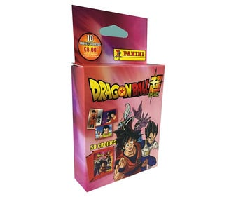 Pack de 10 sobres de cromos de Dragon Ball Super, DRAGON BALL.