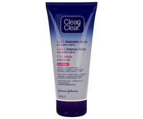 Gel limpiador exfoliante anti puntos negros CLEAN & CLEAR 150 ml.