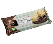 Galleta de barquillo rellena con chocolate  DIET RADISSON 200 gr,