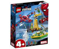 Set de Spiderman: Robo de diamantes de Doc Oc, Marvel Super Héroes. LEGO