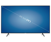 "Televisión 190,5 cm (75"") LED SAMSUNG 75TU8005 4K, SMART TV, WIFI, BLUETOOTH, TDT T2, USB reproductor y grabador, 3HDMI, 2100HZ."