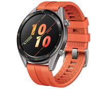"Smartwatch HUAWEI Watch GT Active 46mm naranja, pantalla 1.39"" Amoled, GPS, Bluetooth."