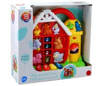 Tablero multiactividad con luces y sonidos Granja Musical ONE TWO FUN ALCAMPO Baby.