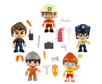 Pack de 5 figuras MIx & Match PINYPON ACTION.