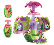 Set de juego Jardín secreto con figura exclusiva y caleidoscopio, HATCHIMALS BIZAK.