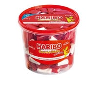 Caramelos de goma HARIBO FAVORITOS RED & WHITE 600 g.