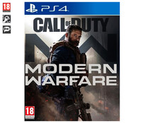 Videojuego Call of Duty: Modern Warfare para Playstation 4. Género: acción, shooter. PEGI: +18.