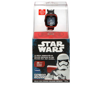 Reloj inteligente infantil Trooper Black con cámara de fotos y video, Star Wars VTECH.