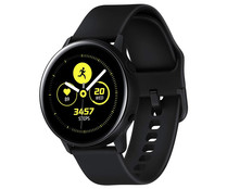 Smartwatch SAMSUNG Galaxy Watch Active SM-R500NZKAPHE negro, 40mm, notificaciones, medidor actividad, pulsómetro, Wi-Fi, GPS, Bluetooth.