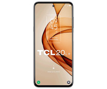 """Smartphone 16,9cm (6,67"""") TCL 20L+ Milky Way Gray, Octa-Core, 6GB Ram, 256GB, 64+8+2+2 Mpx, MicroSD, TCL UI (Android 11)."""