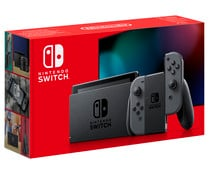 Consola Nintendo Switch edición 2019 con joy con color gris NINTENDO.