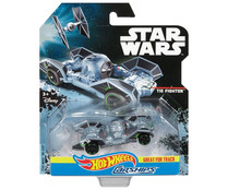 Coche en miniatura The Fighter, Hot Wheels, STAR WARS.