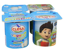 Yogur natural CLESA 4 X 120 gr.