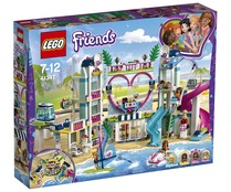 Resort de Heartlake City con 1017 piezas para construir, Friends 41347 LEGO.