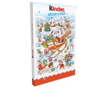 Calendario Adviento de chocolate KINDER 152gr