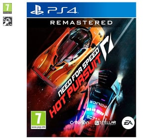 Need for Speed: Hot Pursuit Remastered para Playstation 4. Género: carreras. PEGI: +7.