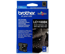 Cartucho de tinta BROTHER LC1100BK negro.