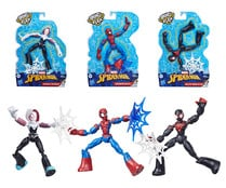 Figura Bend and Flex de 15cm SPIDERMAN MARVEL.