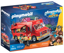 Conjunto de juego Food Truck Del con 2 figuras y accesorios, The Movie 70075, PLAYMOBIL.