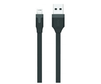 Cable USB-Lightning MUVIT, 2.4A, 1m.