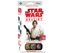 Star Wars Destiny, caja de inicio Luke Skywalker. DISNEY.