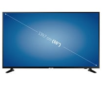 "Televisión 139,7 cm (55"") LED SAMSUNG 55RU7025 4K, HDR, SMART TV, WIFI, BLUETOOTH, TDT T2, USB reproductor y grabador, 3HDMI, 1400HZ."