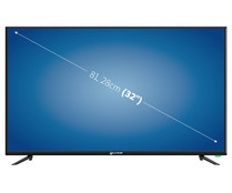"Televisión 81,28 CM (32"") LED GRUNKEL LED-320ASMT HD READY, SMART TV, WIFI, USB reproductor y grabador, 3HDMI, 50HZ."