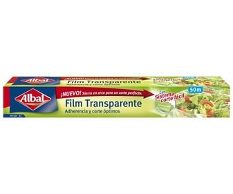 Film transparente  ALBAL 50 mts.
