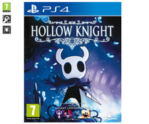 Videojuego Hollow Knight para Playstation 4. Género: plataformas, PEGI: +7.