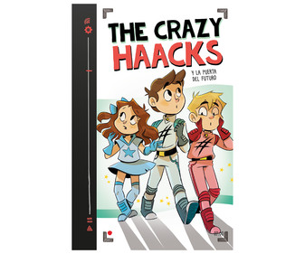 The Crazy Haacks y la puerta del futuro, THE CRAZY HAACKS. Género: infantil. Editorial Montena.