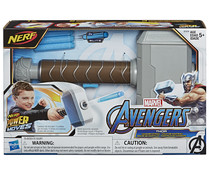 Martillo de Thor Power Moves lanzador Nerf, LOS VENGADORES.