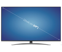 "Televisión 124,46 cm (49"") LED LG 49SM8200 4K, HDR, SMART TV, WIFI, BLUETOOTH, TDT T2, USB reproductor y grabador, 4HDMI, 2300HZ."