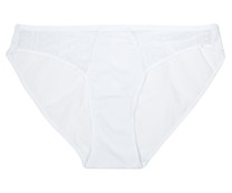 Braga bordada SELENE, color blanco, talla L.