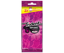 Chicle Berry Party TRIDENT Senses 69 gr.