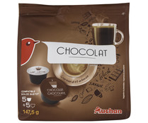 Càpsulas chocolate, compatibles Dolce Gusto AUCHAN 147,5 gr.