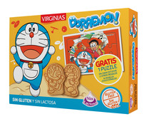 Galletas Doraemon sin gluten VIRGINIAS 120 g.
