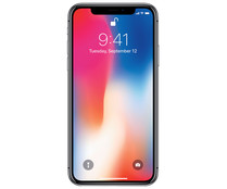 "Smartphone 14.73cm (5,8"") APPLE iPhone X space grey MQAF2QL/A, Chip A11 Bionic, 256GB, 12Mpx, vídeo en 4K, iOS 11."