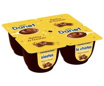 Natillas de chocolate DANET de Danone 4 x 120 g.