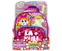 Bolso personalizable con 4 rotuladores permanentes incluidos, Color me mine, CHAMOY.