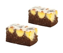 Cake chocolate y coco, 2 uds, 200g.
