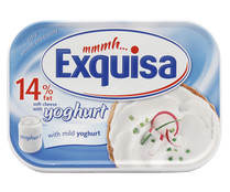 Queso natural light suave y con yogurt EXQUISA 200 gr.