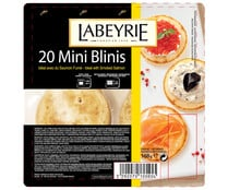 Mini blini LABEYRIE 20 unidades 168 gramos