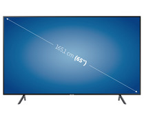 "Televisión 165,1 cm (65"") LED SAMSUNG UE65RU7025 4K, HDR, SMART TV, WIFI, BLUETOOTH, TDT T2, USB reproductor y grabador, 3HDMI, 1400HZ."