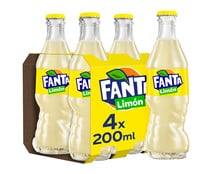Refresco de limón FANTA pack 4 uds x 20 cl.