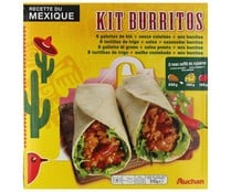 Burritos kit AUCHAN 620 grs