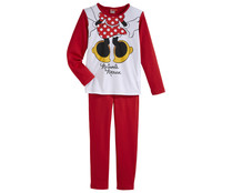 Pijama largo de niña DISNEY Minnie Mouse, talla 8.