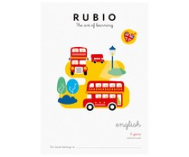 Cuadernillo Rubio English 6 years advanced. Género: infantil, actividades, inglés. Editorial Rubio.