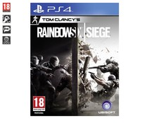 Videojuego Tom Clancy's rainbow Six: Seige para Playstation 4. Género: acción, acción táctica, shooter, FPS. PEGI: +18.