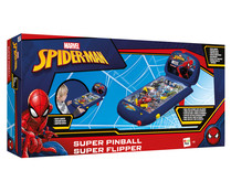 Superpinball portátil con luces y sonidos SPIDERMAN.